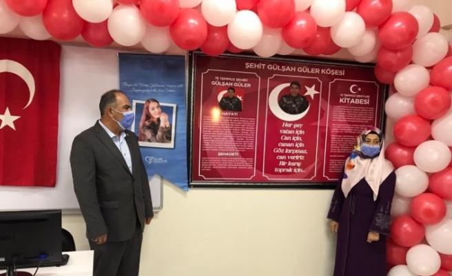 15 Temmuz şehidinin adına yapılan kütüphane doğum gününde açıldı