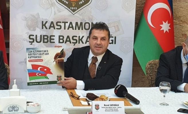 29 yıl sonra Karabağ'a zafer kazanan Azerbaycan'a, Türk halkının duyguları mektup olarak iletilecek