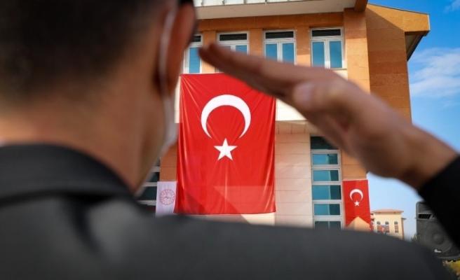 Ağrı'da 29 Ekim Cumhuriyet Bayramı kutlama programı düzenlendi