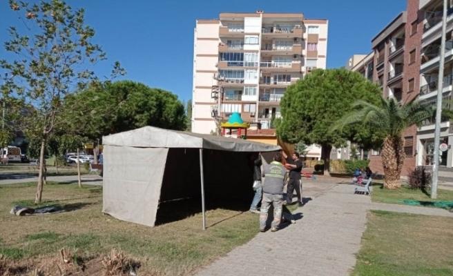 Alaşehir Belediyesinden depremzedelere yardım
