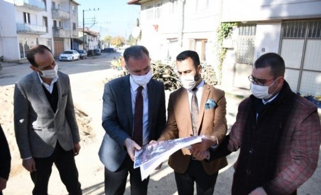 Alibeyköy meydanı yenileniyor
