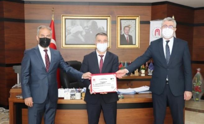 Amasya Üniversitesi 'Sıfır Atık Yetki Belgesi' aldı
