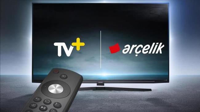 Arçelik televizyonlar tek tuşla TV+'a erişebiliyor