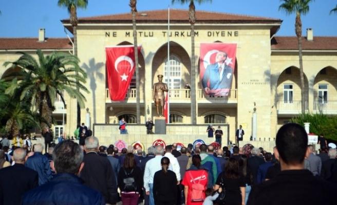 Atatürk, Mersin'de törenlerle anıldı