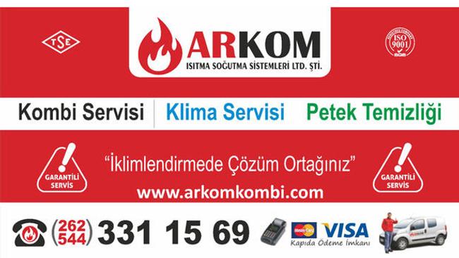 Ayrıcalıklı kombi ve klima servisi Arkom Teknik