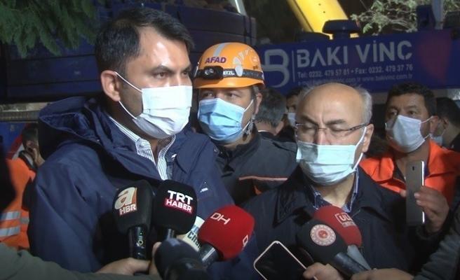 """Bakan Kurum: """"İzmir'in en büyük kentsel dönüşüm hamlesini başlatmış oluyoruz"""""""