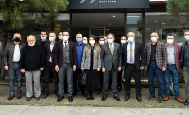 """Başkan Demir: """"Sanayi esnafının sorunlarını çözeceğiz"""""""