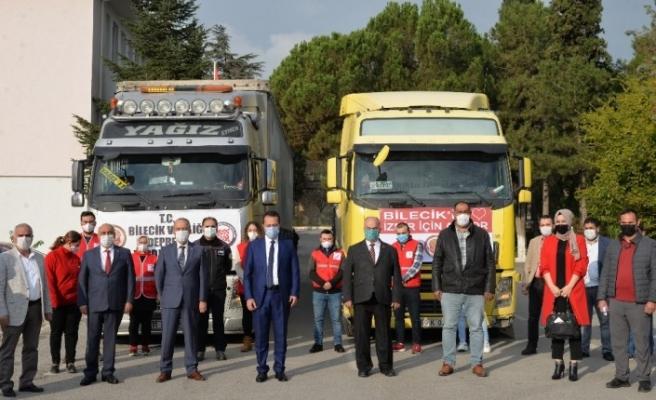 Bilecik'in kalbi ''İzmir'' için atıyor