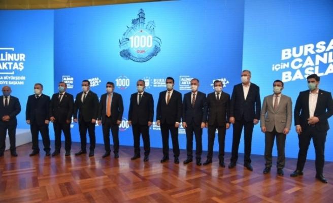 Büyükşehir Belediye Başkanı Aktaş 1050 konutlardaki riskli binaların detayını anlattı