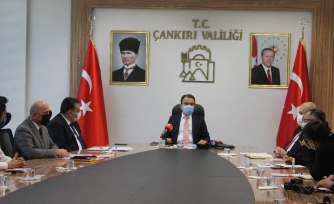 Çankırı'da korona virüs denetimlerinde 1 milyon 600 bin lira ceza kesildi