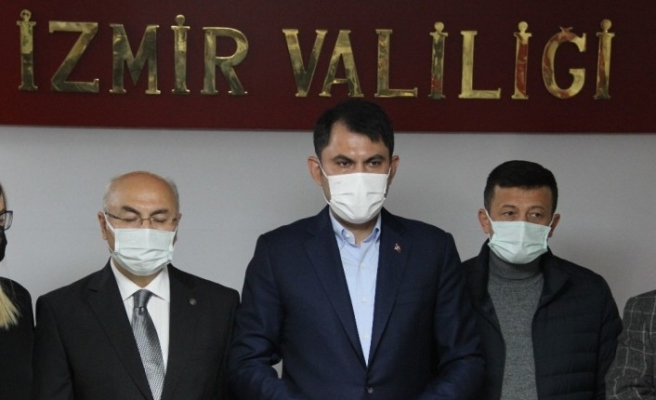 """Çevre ve Şehircilik Bakanı Kurum: """"Cuma günü ilk konteynerler konulacak"""""""
