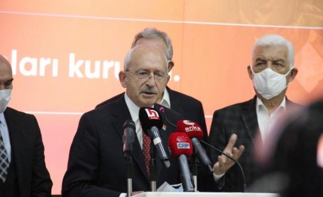 """CHP lideri Kılıçdaroğlu: """"Daha güçlü binalara, kentsel dönüşüme ihtiyacımız var"""""""
