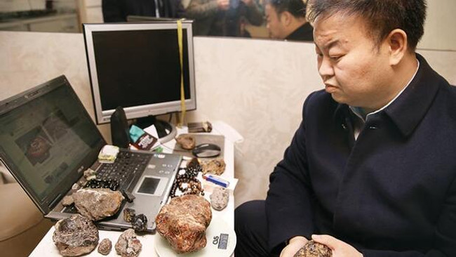 Çinli firmalar Bayburt kehribarı için geldi
