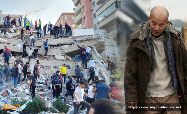 Çukur'un Aliço'su Rıza Kocaoğlu'nun Acı Günü! İzmir Depreminde...