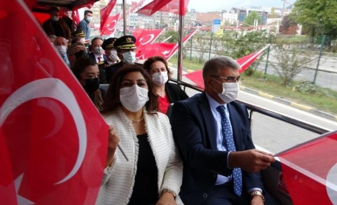 Cumhuriyet Bayramı Karabük'te coşkuyla kutlandı