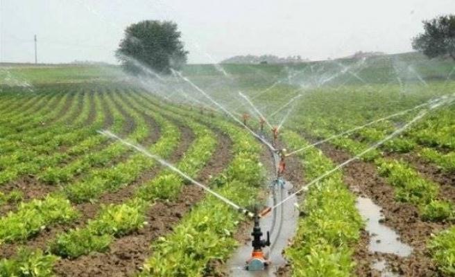 Diyarbakır'da 500 bin dekar tarım arazisi sulandı