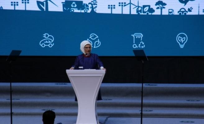 Emine Erdoğan Sıfır Atık Ve Belediyeler Kongre ve Ödül Törenine katıldı