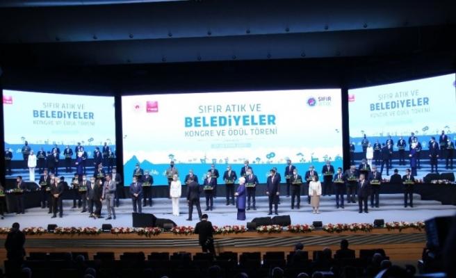 Fatih Belediyesinin Sıfır Atık Projesi'ne ödül