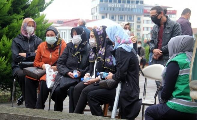 Giresun'da selde kaybolan 4 kişi için gıyabi cenaze namazı kılındı