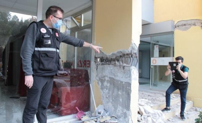 Hasar tespit çalışmaları sonlanıyor: Ağır hasarlı bina sayısı 414