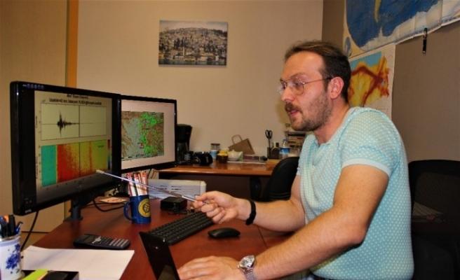 İzmir depreminin ses kayıtlarını yayınlayan Araştırma Görevlisi Livaoğlu: