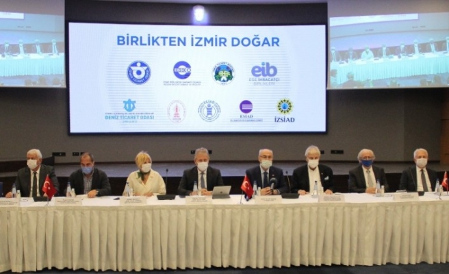 İzmir iş dünyası depremin yaralarını saracak