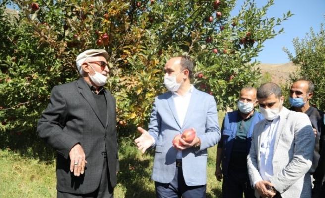 Kapalı Çarşı esnaflığından İran sınırındaki meyve bahçesine uzanan hayat