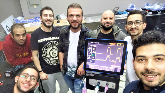 KKTC'nin yerli solunum cihazı Türkiye'de sergilenecek
