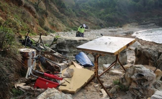 Kocaeli'nin doğal güzelliğini kampçılar çöplüğe döndürdü