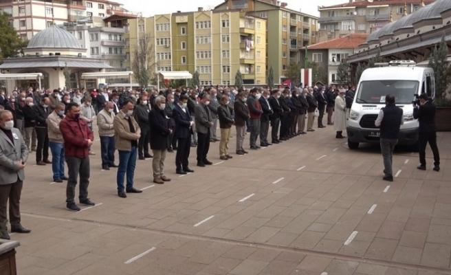 Korona virüsten hayatını kaybeden Milli Eğitim Müdürü Yardımcısı için tören düzenlendi