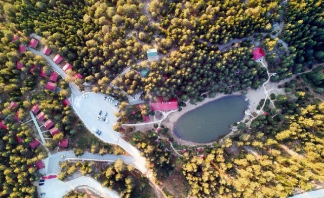 Limni Gölü pandemide insanların huzur bulduğu mekan oldu