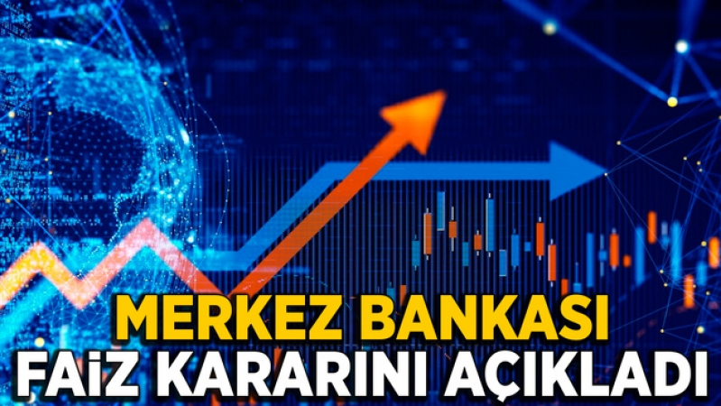 Merkez Bankası faizi 4.75 puan artırdı!