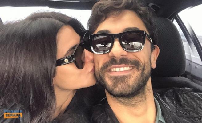 Nesrin Cavadzade ile Gökhan Alkan'ın Fotoğrafında Gözden Kaçan Detay!