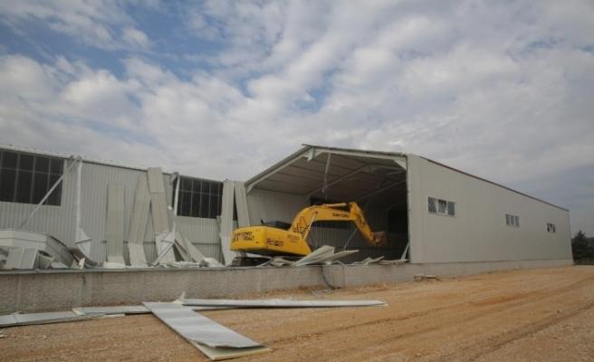 Nilüfer'de kaçak yapılarla mücadele sürüyor