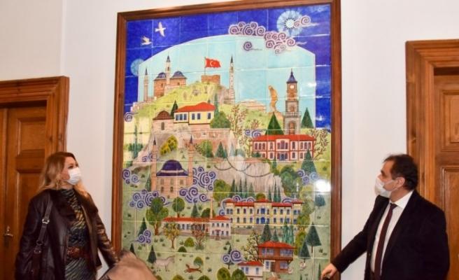 Osmanlı ve Cumhuriyet döneminde Bilecik'i anlatan minyatürler