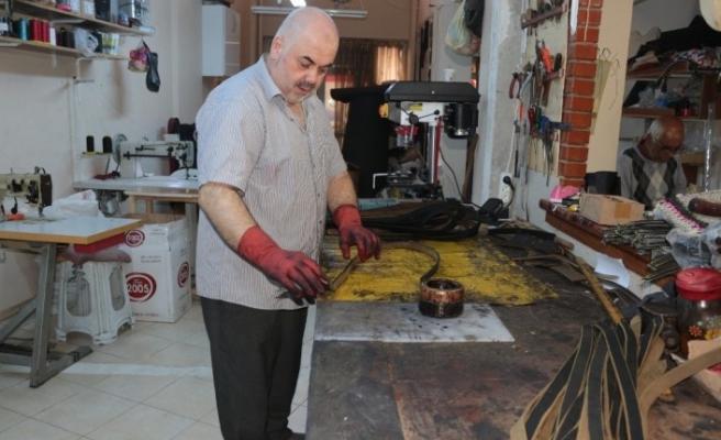 (Özel) Osmanlı dönemi dizileri saraçlık mesleğine ilgiyi artırdı