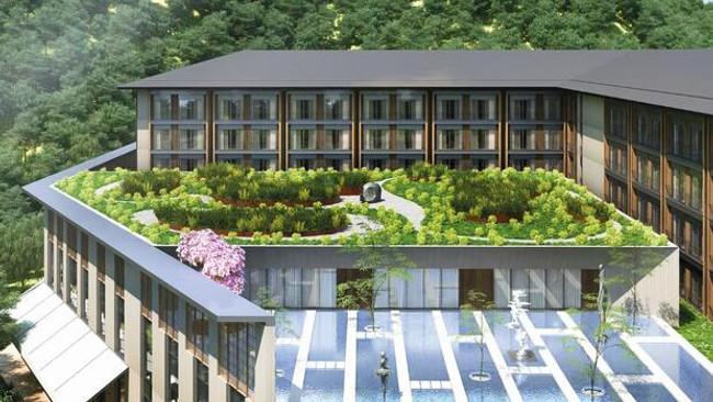 Sapanca'ya 450 milyon lira yatırımla yeni otel