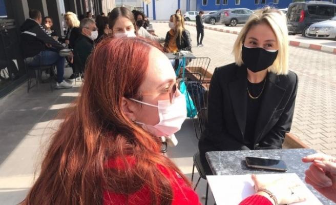 SEY Vakfı'ndan enkazdan kurtarılan konservatuvar öğrencisi İnci'ye ziyaret