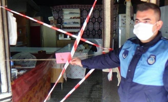 Şeyh Edebali Türbesi yerleşkesindeki çadır mühürlendi