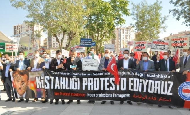 Şırnak'taki STK'lardan Fransa'ya tepki