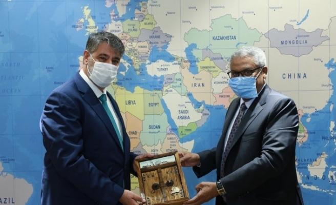 """Sudan Büyükelçisi Mustafa: """"Her alanda Türkiye ile ilişkileri geliştirmek istiyoruz"""""""