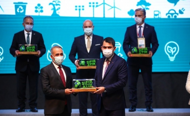 Sultangazi Belediyesi'ne 'Sıfır Atık' proje ödülü