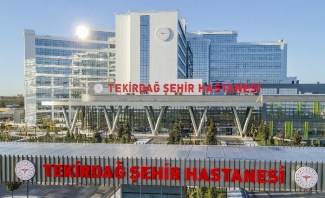 Tekirdağ Şehir Hastanesi yarın Cumhurbaşkanı Recep Tayyip Erdoğan'ın katılımıyla kapılarını açıyor