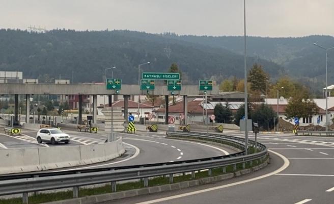 TEM Otoyolu Bolu Dağı Tüneli 27 gün sonra trafiğe açıldı