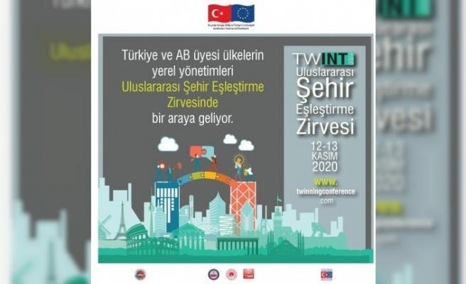 Türkiye ve AB'den yerel yönetimler Uluslararası Şehir Eşleştirme Zirvesi'nde biraraya geliyor