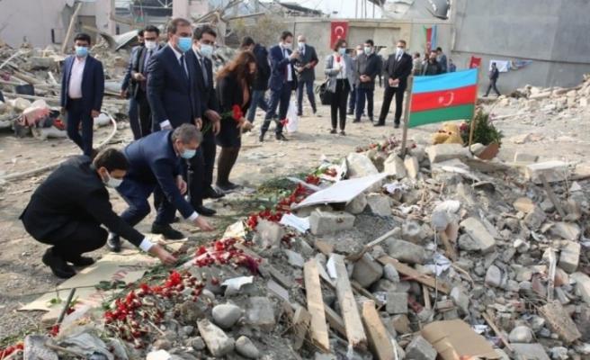YTB'den Azerbaycan'ın Gence kentine ziyaret