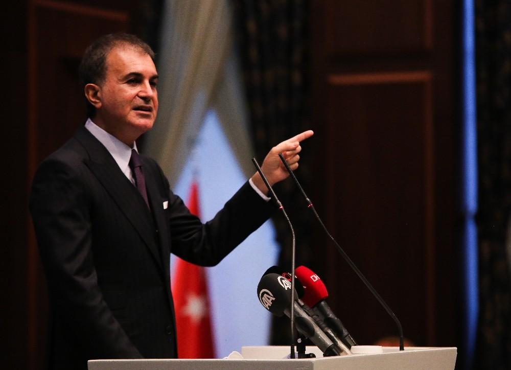 """AK Parti Sözcüsü Çelik: """"Ayasofya, 2020'nin ve bütün zamanların yıldızlı tacı olarak gönüllerimize kazınmıştır"""""""