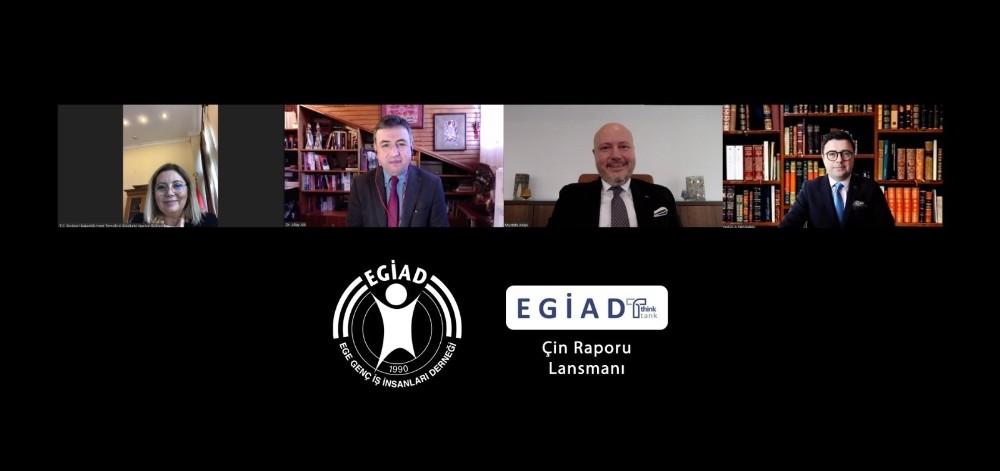 Ege'nin ilk düşünce kuruluşu EGİAD Think Tank'tan Çin raporu
