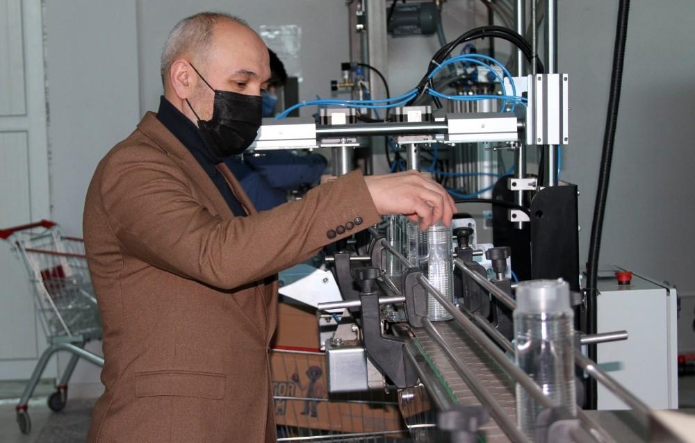 Korona virüs salgını kolonya üreticisine yaradı