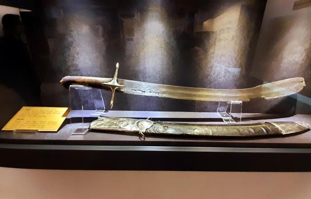 Mihalgazi'nin 700 yıllık kılıcı Harbiye Askeri Müzesi'nde sergilenmeye başladı